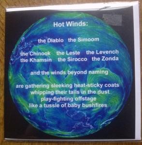 Hot winds card